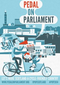 I'm Pedalling on Parliament on April 26th