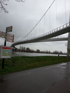 bike and pedestrian bridge