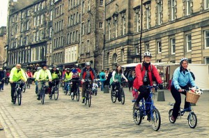 Moultons on the Royal Mile