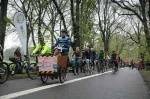 Bakfiets at the Meadows