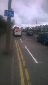 Aberdeen bike lane