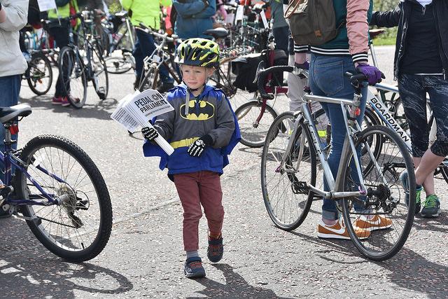 Batman costume at POP
