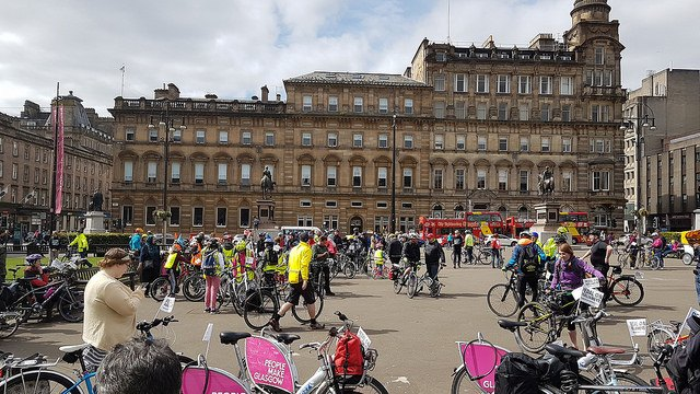 nextbikes at George Square
