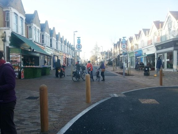 shopping street in Waltham Forest