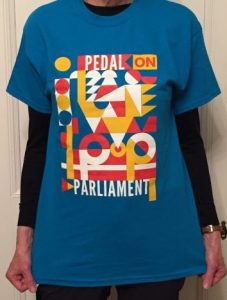#PoP2018 T-shirt on model