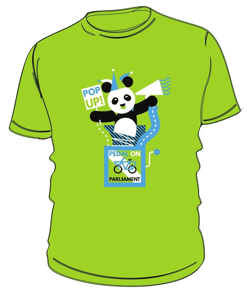 Pop-up t-shirt