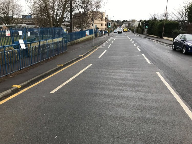 unsafe cycle lanes