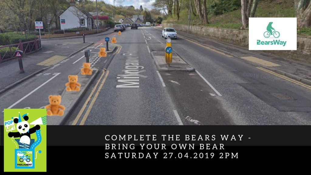 Bear protected bike lane