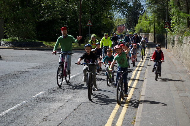 mass kids' bike ride