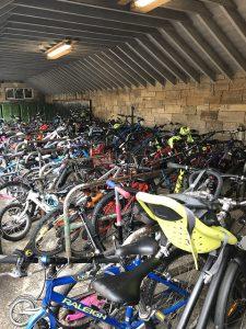Sciennes bike parking