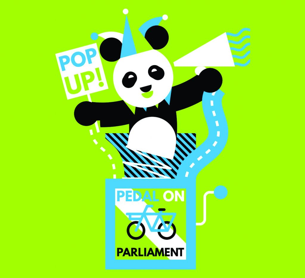 pop-up panda logo
