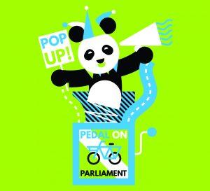 pop-up panda logo