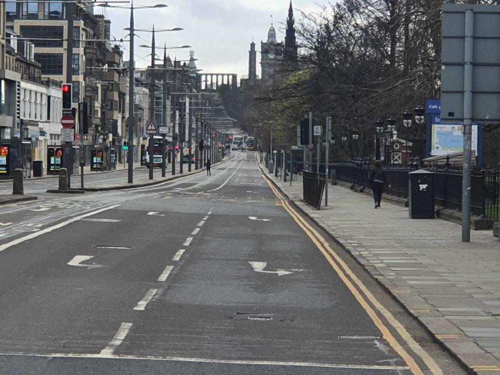 Deserted Princes Street