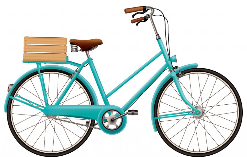 Upright practical bike
